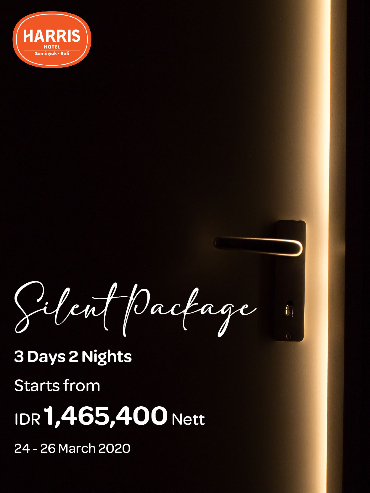 Harris Seminyak Silent Day Package
