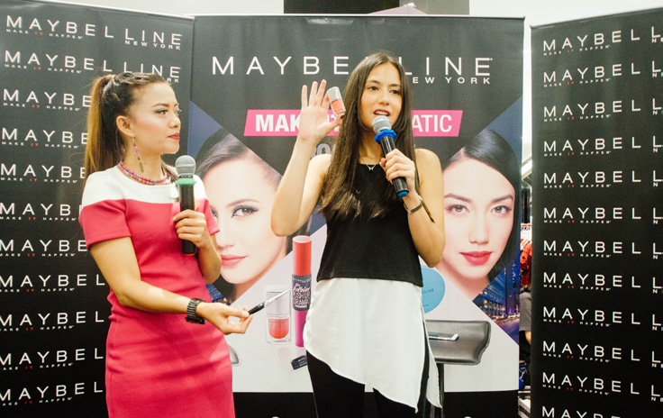 MAKE IT DRAMATIC WITH MAYBELLINE AND CENTRO