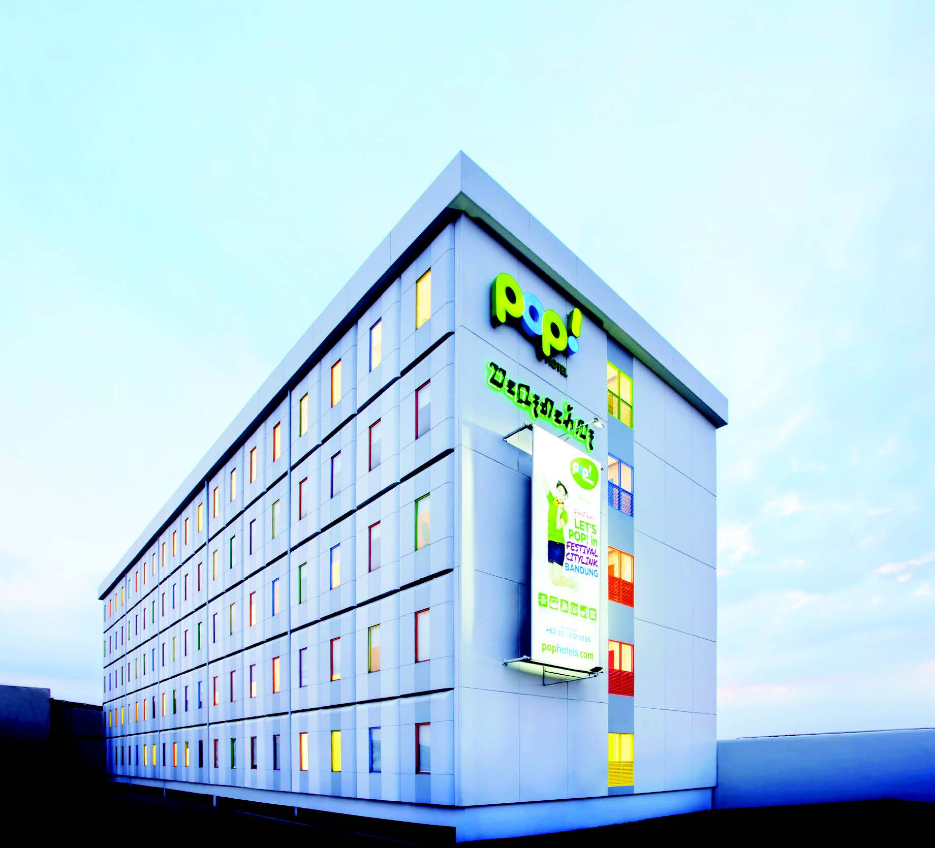 A BUDGET HOTEL FOR SMART & ECO-FRIENDLY TRAVELLERS POP! HOTEL FESTIVAL CITYLINK BANDUNG