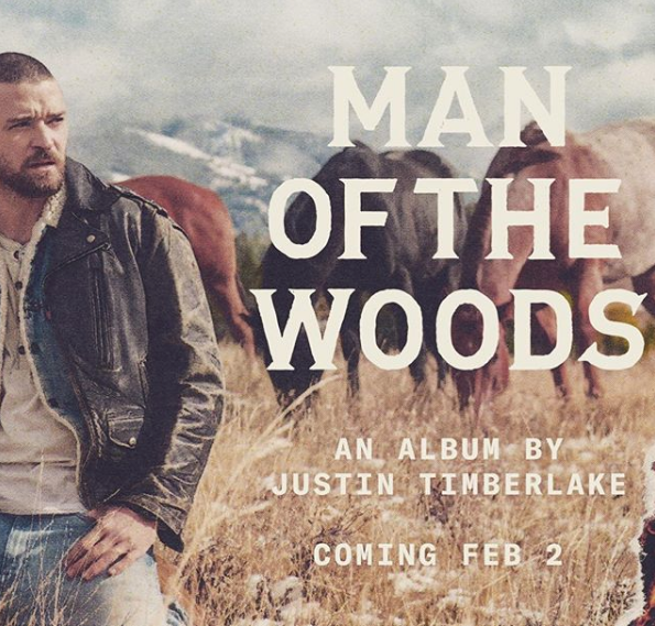 MAN OF THE WOODS JUSTIN TIMBERLAKE