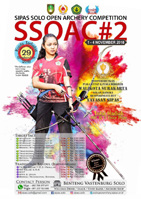 SIPAS SOLO OPEN ARCHERY COMPETITION 2018