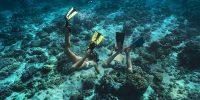 1. The Ritz-Carlton Maldives, Fari Islands-Kids snorkeling