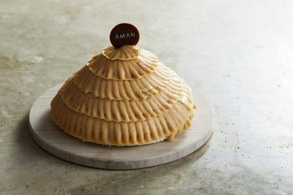 Aman Tokyo, Japan - La Patisserie, Mt Blanc Cake.jpg